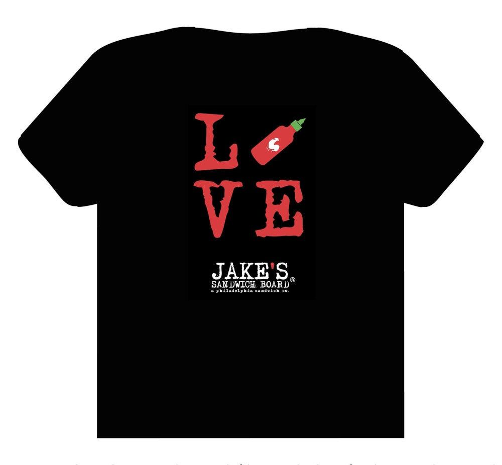 Image of Love Sriracha T-Shirt