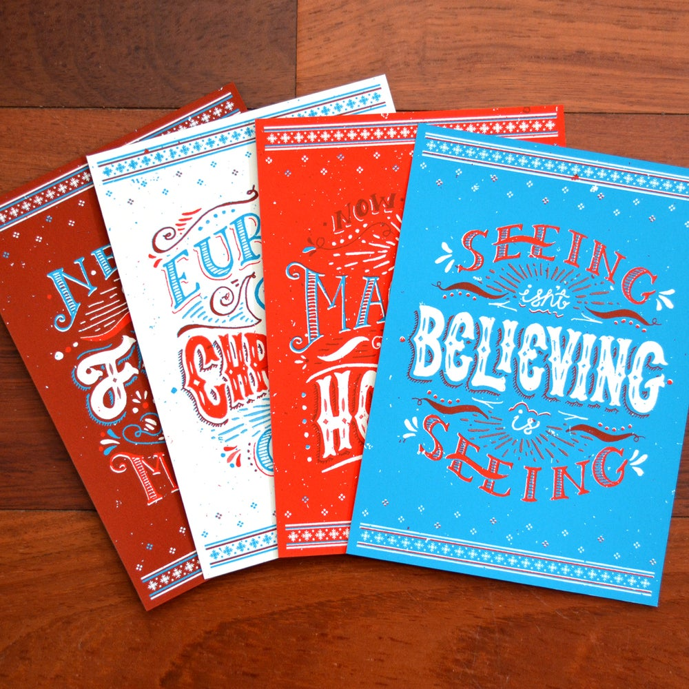 Image of Holly Day Cards / Part Deux