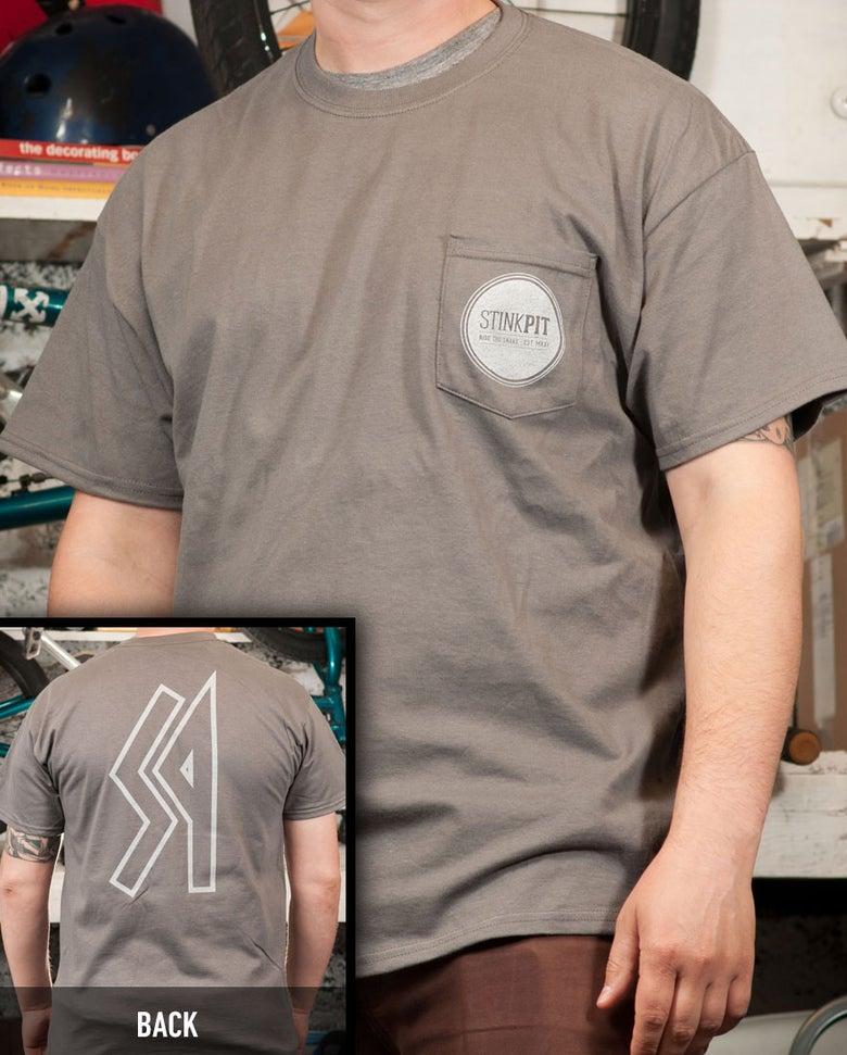 Image of Circle Pocket Tee Shirt