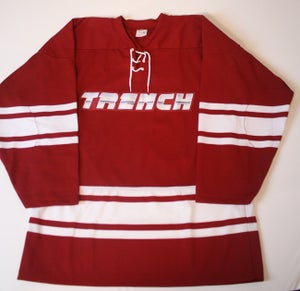 Image of Trench Jersey (Oxblood)