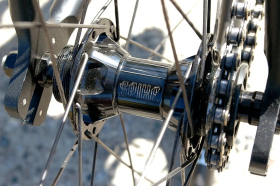 Image of SPIKE TRACK REAR HUB