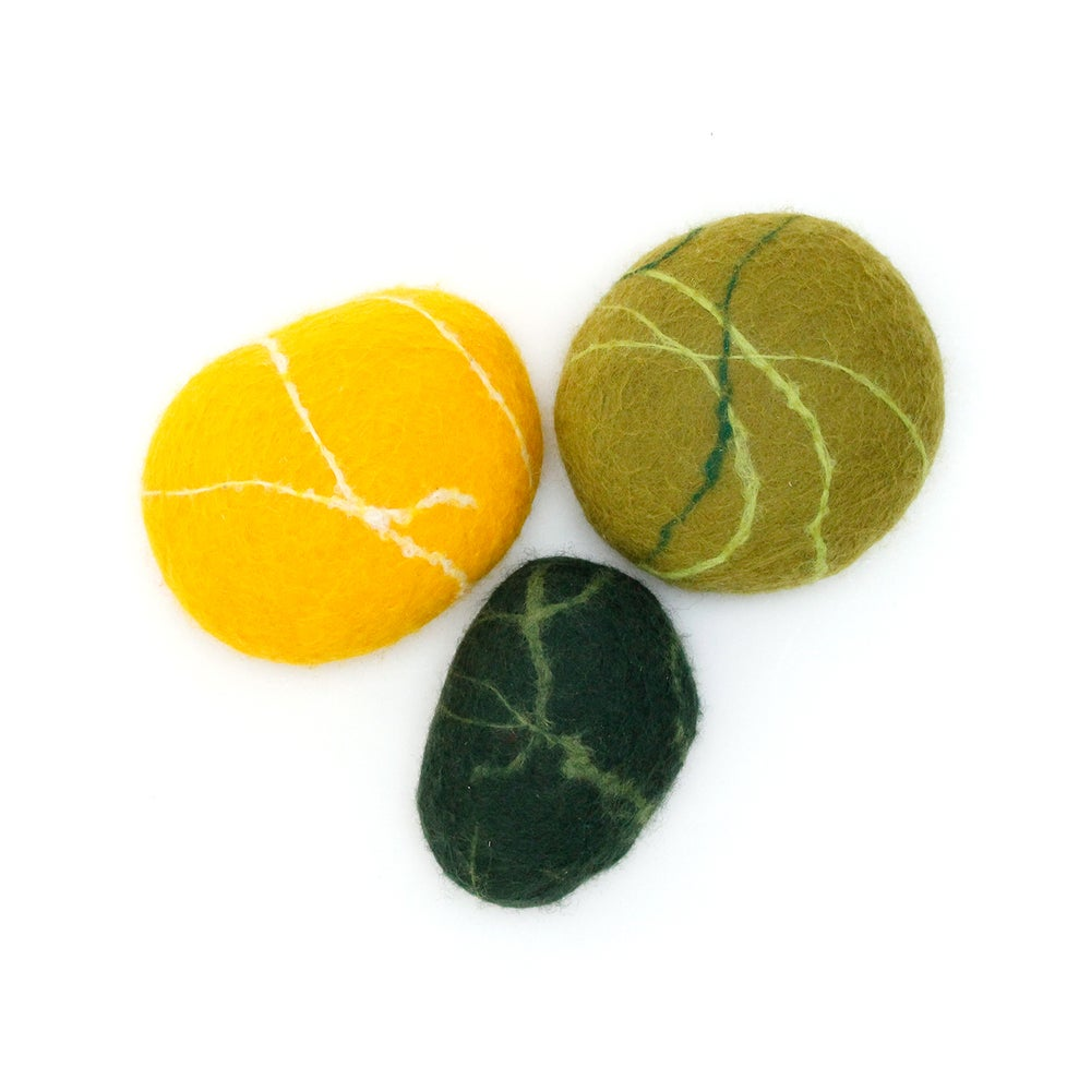 "Image of FELTED STONES | ""Nature"""