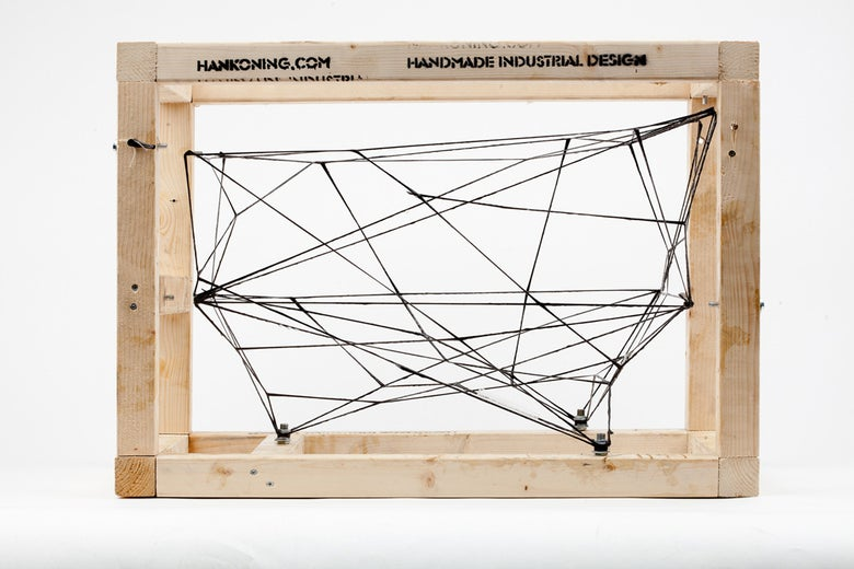 Image of Carbon Copy Spaceframe by Han Koning awesome contemporary spatial object