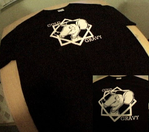 "Image of Cold Gravy T-shirt ""Skate Rat"""