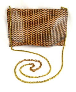 Image of vintage chain pouch (cafe dot)