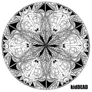 Image of kidDEAD Skull Mandala Tee