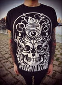 Image of The Day Will Come, Skull Tattoo T-shirt