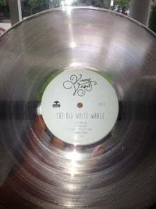 Image of Vinny Vegas - The Big White Whale Clear 150 gram Vinyl