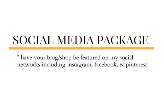 Image of Social Media Package