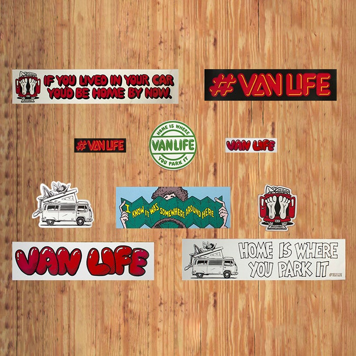 Image of Bumper Sticker Pack