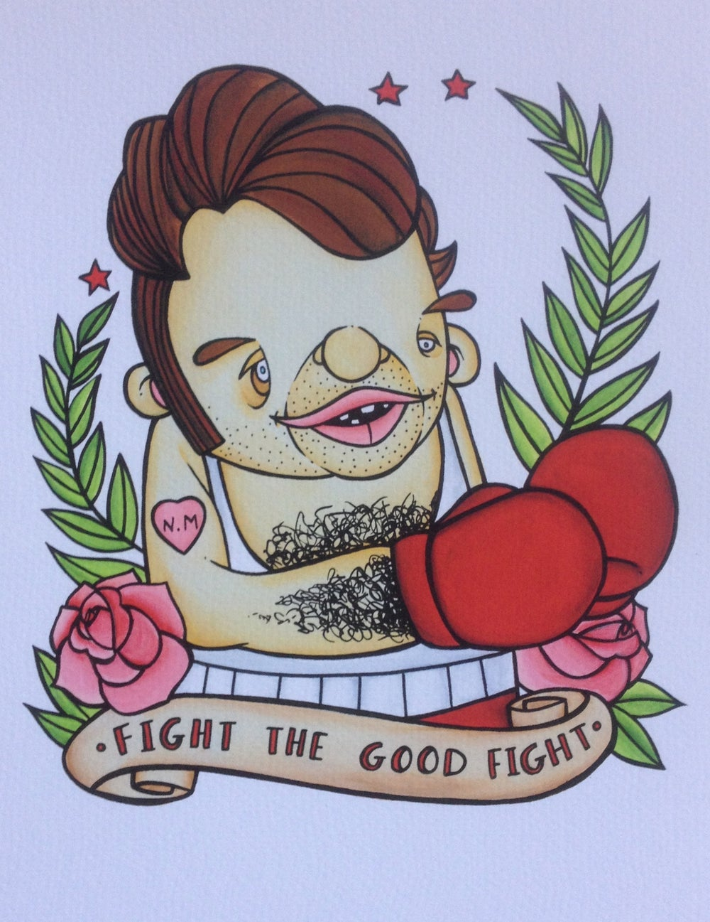 """Image of """"Fight the Good Fight"""""""