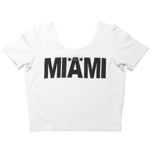 Image of *L.A'FUNT Miami Signature Crop Top