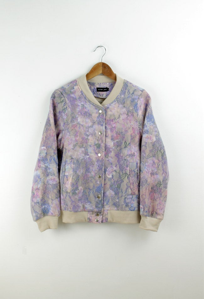 Image of FLORAL DREAM BOMBER JACKET