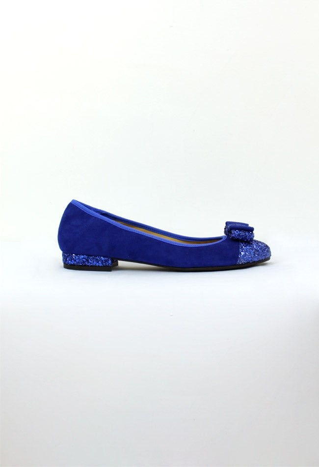 Image of BLUE BALLERINA SHOES