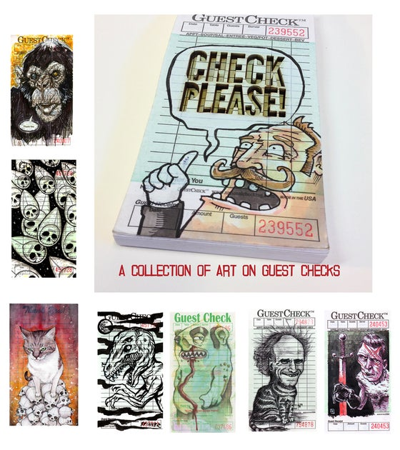 Image of Check Please! A Collection of Art on Guest Checks