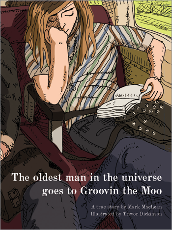 Image of The Oldest Man In The Universe Goes To Groovin The Moo