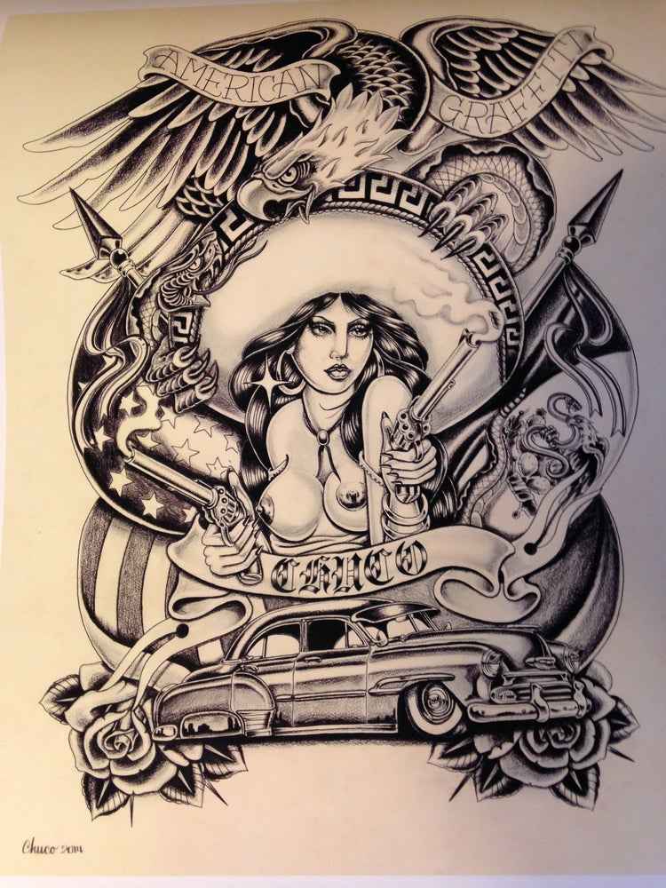 "Image of ""Charra"" 16X20 Fine Art Print"