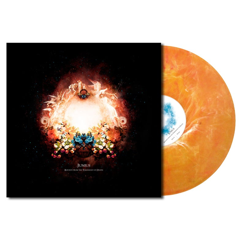 Image of Reports from the Threshold of Death LP | Orange Marble