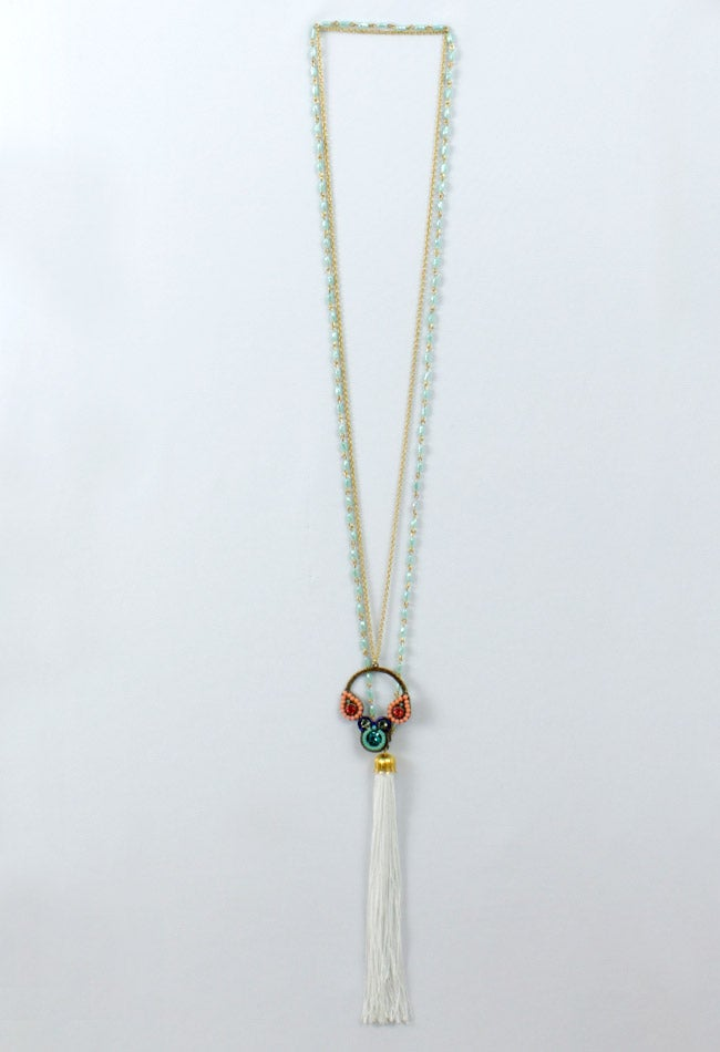 Image of LONG DOUBLE NECKLACE