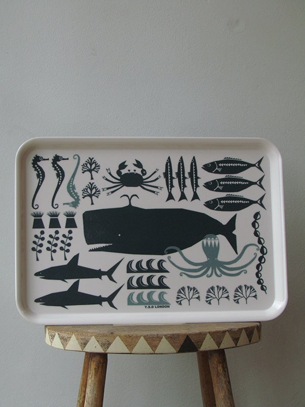 Image of SWIMMING IN THE SEA TRAY (LARGE)