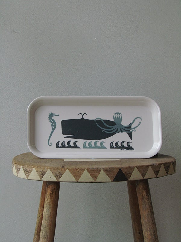 Image of SWIMMING IN THE SEA TRAY (SMALL)