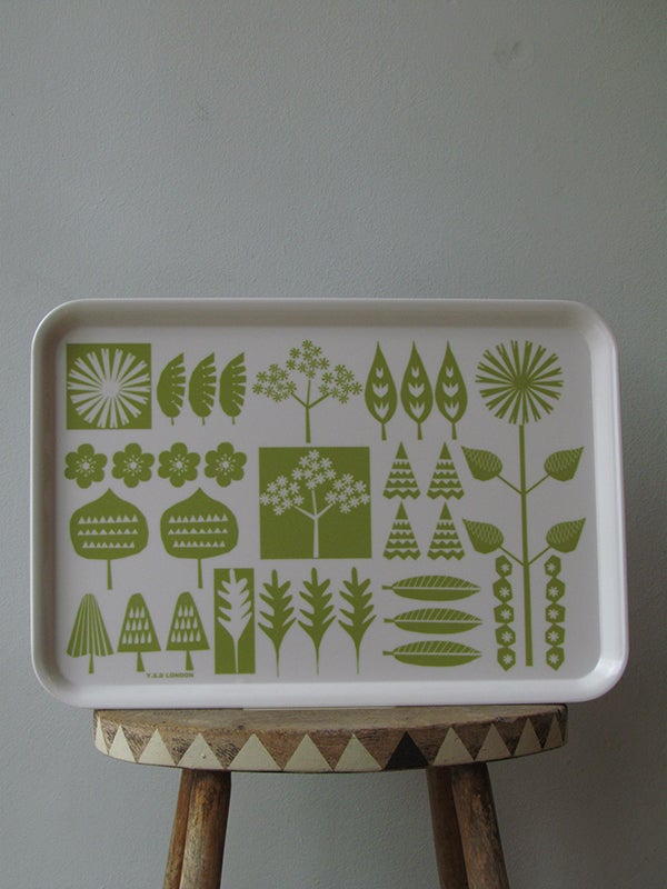 Image of WALKING IN THE WOODS TRAY (LARGE)