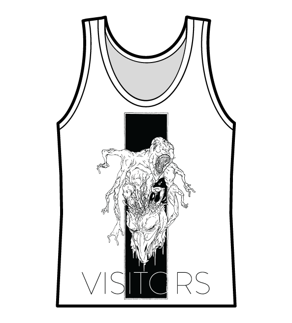"Image of Visitors Tank Top - ""You Ruined Me"""
