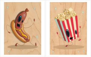 "Image of ""Intermission"" Print Set of Five"
