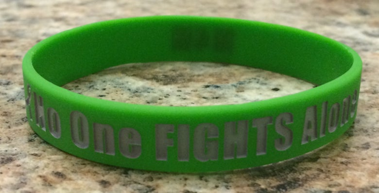 Image of No One Fights Alone Bracelets
