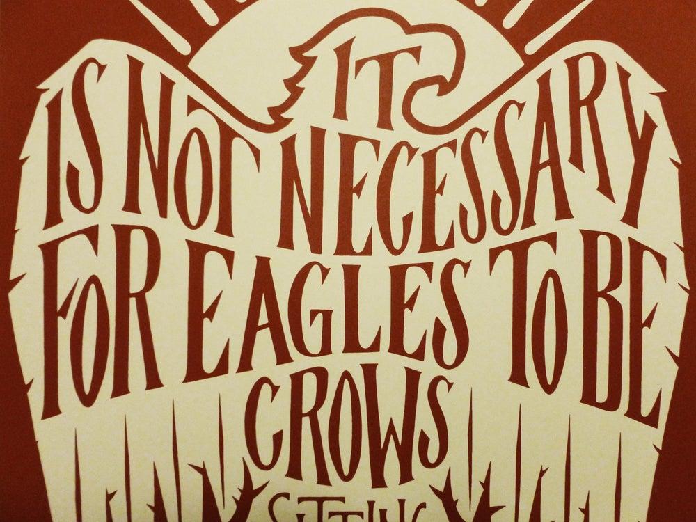Image of Eagles Print