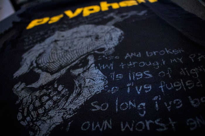Image of Psyphen Skull & Spigot™ T-Shirt