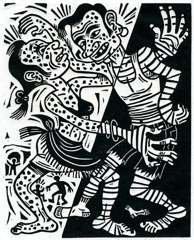 Image of linogravures - linocuts