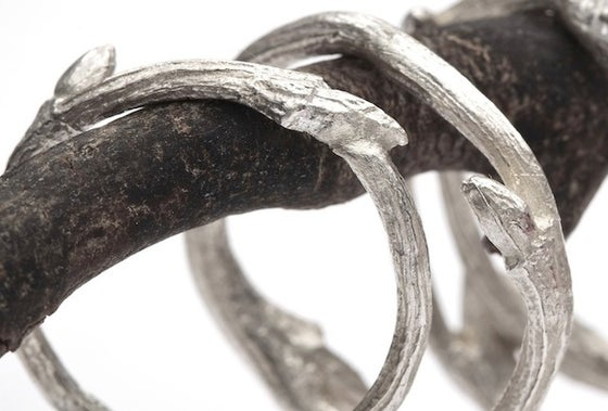 Image of Elvish Band <br>Twig Stacker Ring