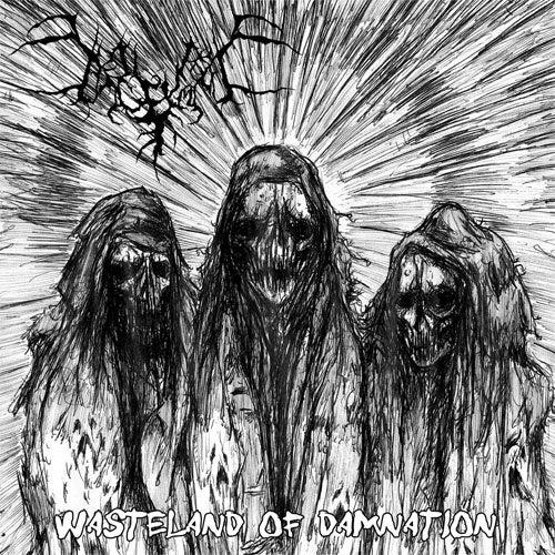 """Image of Begrime Exemious """"Wasteland of Damnation"""" 7"""" EP"""