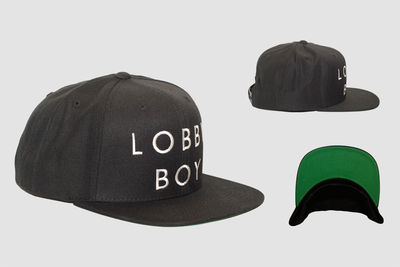 Image of Lobby Boy Black Snapback
