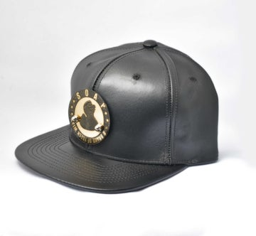 Image of BLACK SUMMER NIGHT - Duck Leather