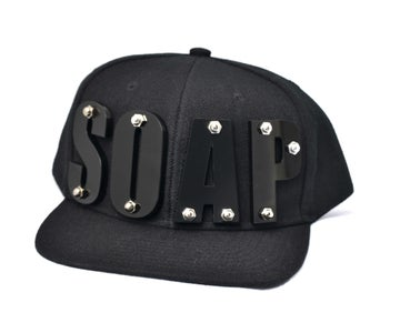 Image of BLACK SUMMER NIGHT - SOAP Hat