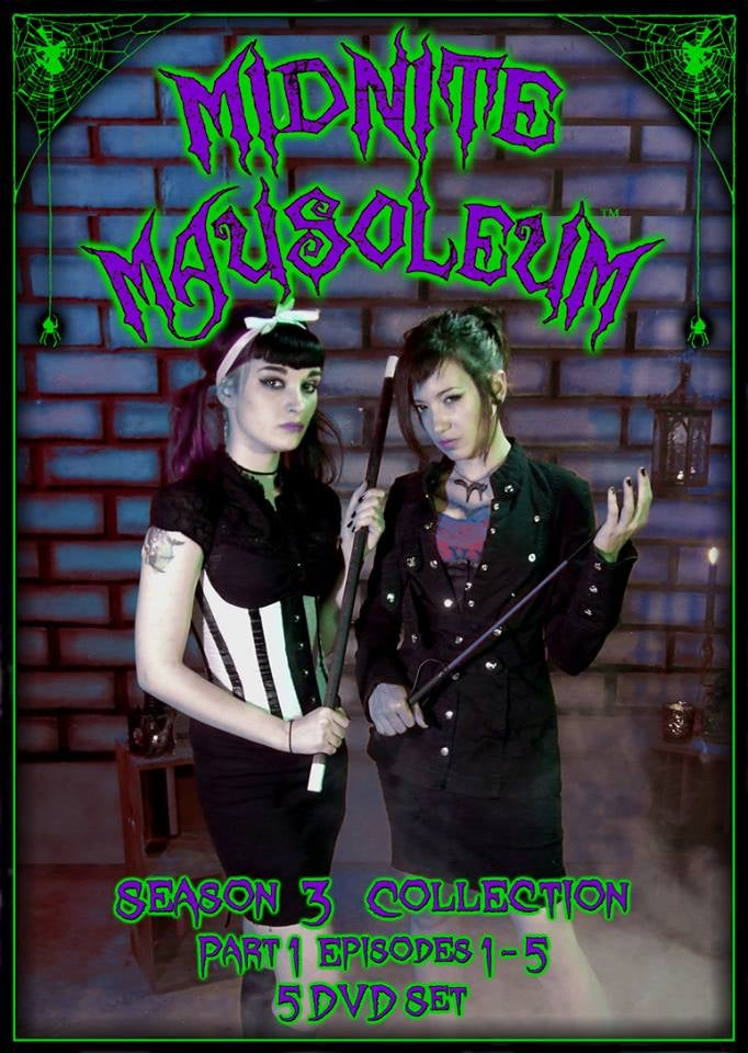 Image of MIdnite Mausoleum- DVD Set Season 3, Part 1