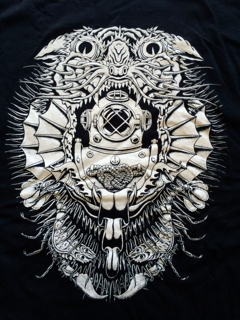 "Image of ""Diving Mask"" shirt - Kyler Martz"