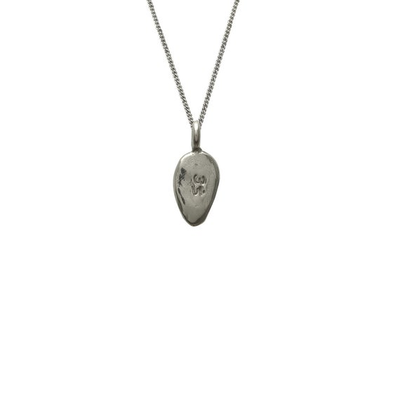 Image of Lotus Petal Necklace Om : Spiritual Enlightenment