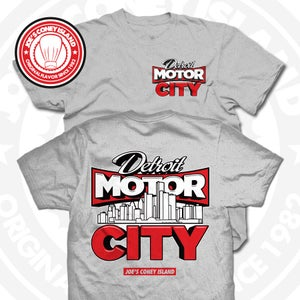 Image of Detroit Motor City Grey Tee