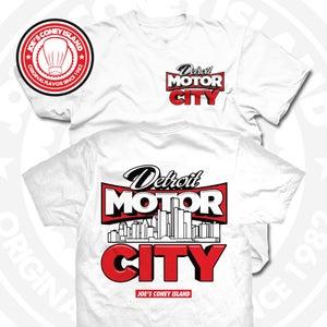 Image of Detroit Motor City White Tee