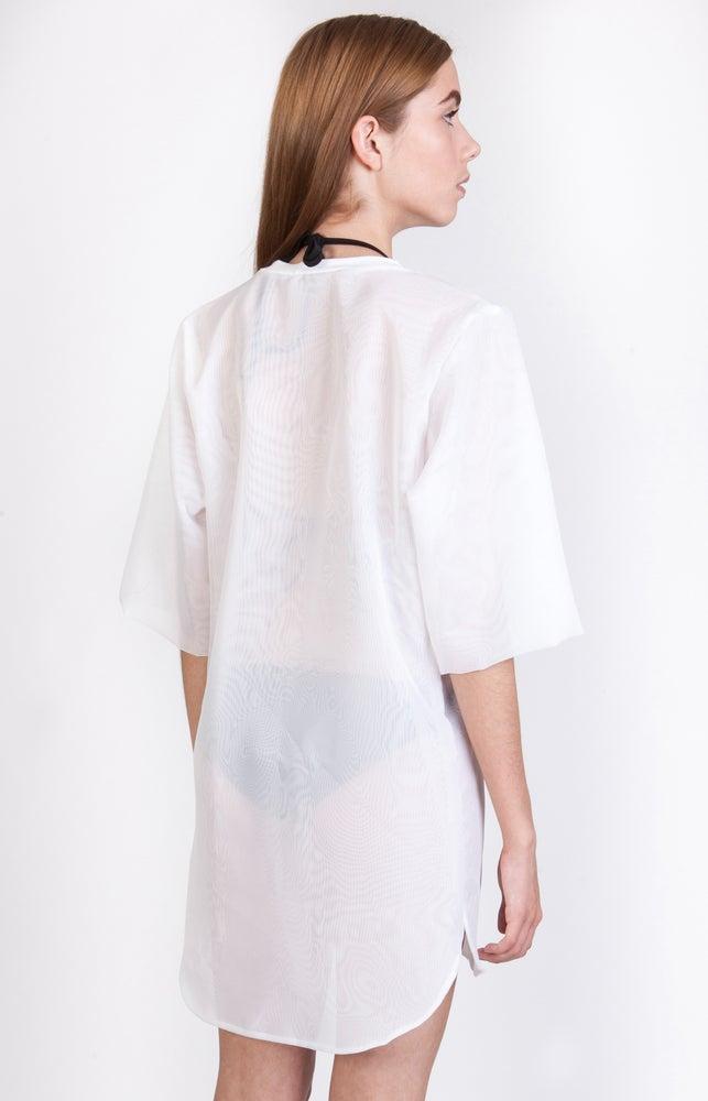 Image of SS Wavy Overlay Dress