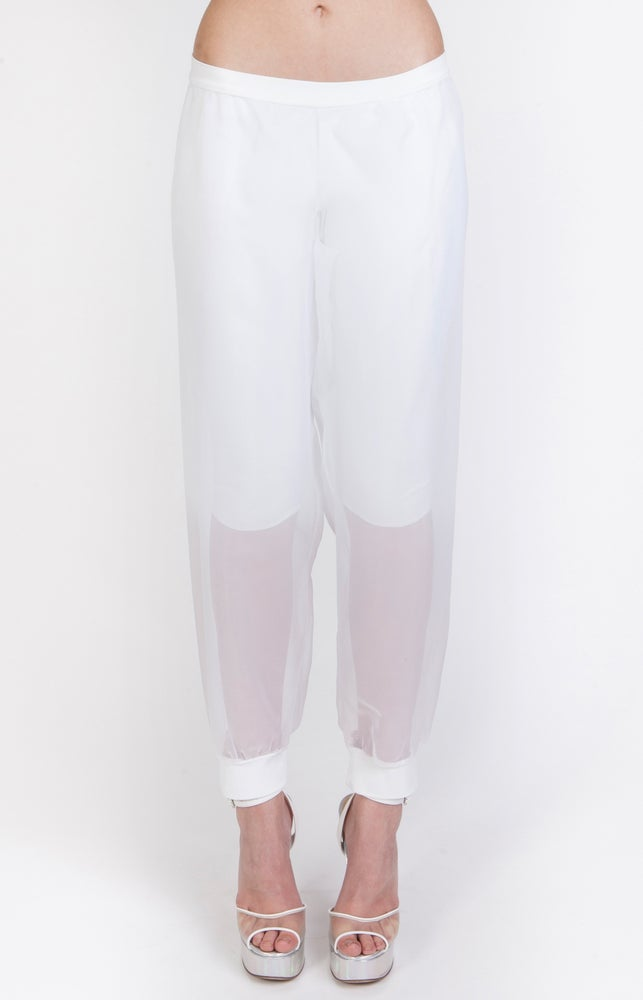 Image of SS Chiffon Sweat Pants