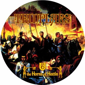 "Image of TEMPLARS Horns of Hattin 12"" Picture Disc"