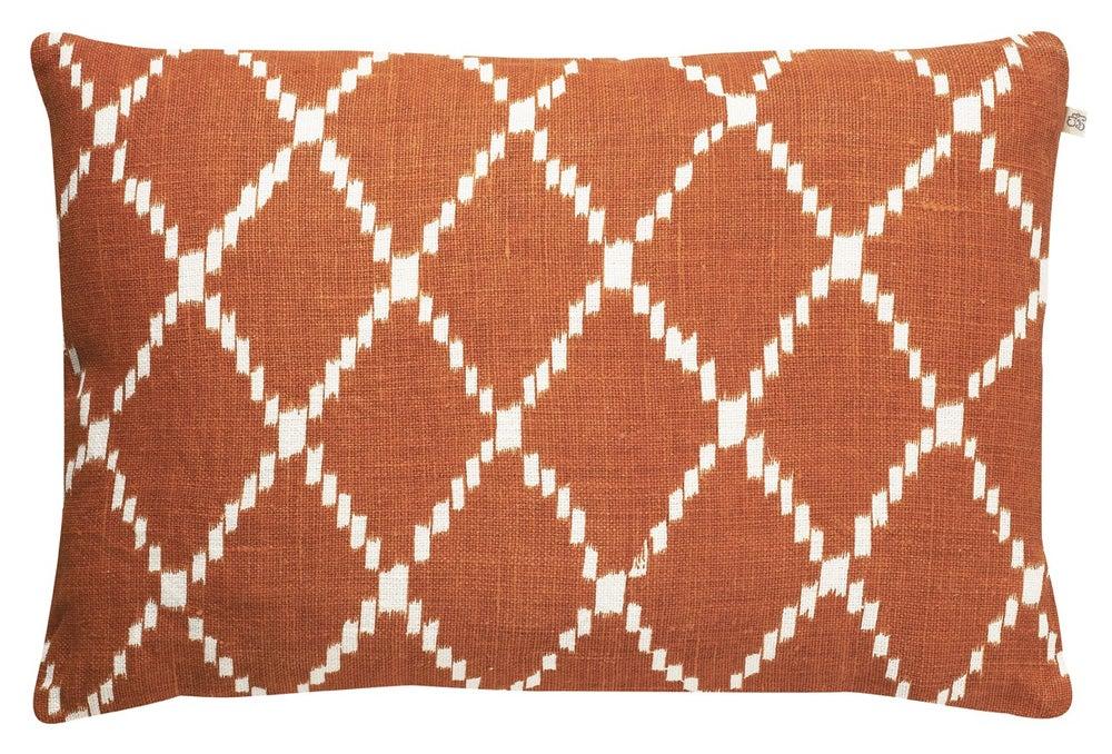 Image of  Chhatwal & Jonsson's Linen Pillow - Orange