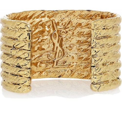 Image of SOLD OUT  Yves Saint Laurent Vintage Gold Rope Cuff