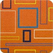 Image of Coasters in Orange Mosaic • 16 pack