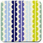 Image of Coasters in Lime Wiggles • 16 pack