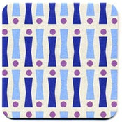 Image of Coasters in Lilac Cassis Bowler • 16 pack